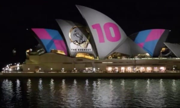 Opera House projection