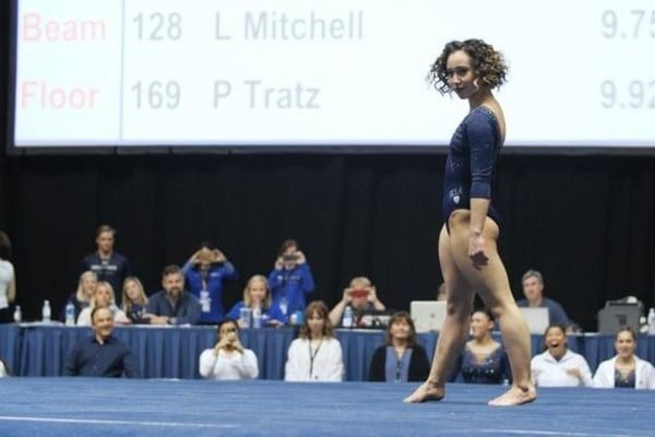 A Perfect 10 For Katelyn Ohashi The Best Gymnastics Floor